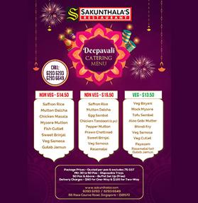 Sakunthalas Deepavali Catering